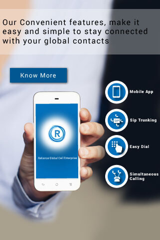 Corporate business calling card with connectivity in  200+ Countries